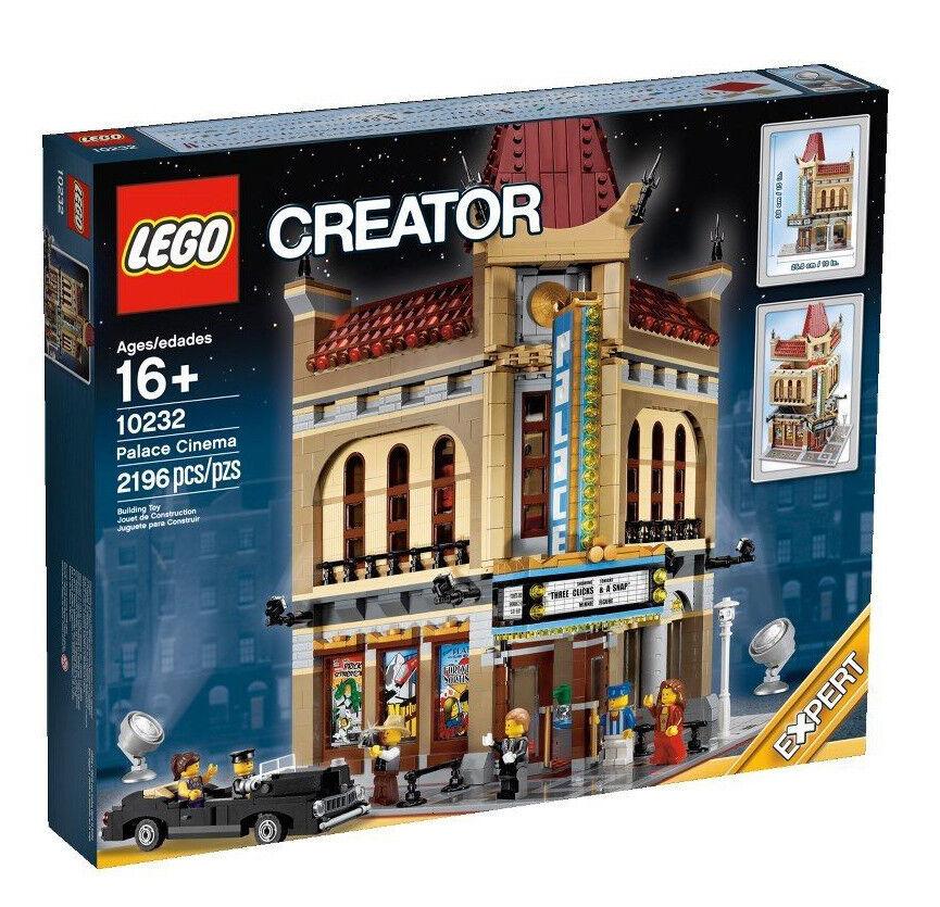 Lego Lego Lego Modular Factory Sealed Set RARE Palace Cinema New in Box 10232 City Town d6549f