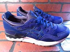 ASICS Gel Lyte V Mens Shoe Size 12 NEW H6Q4L-5151 Blue Print