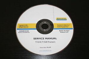 new holland t1510 t1520 tractor service repair manual ebay rh ebay com T1510 New Holland Rear Attatchments new holland t1510 service manual