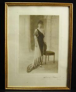 Henri Manuel (1874-1947) C1920 Femme élégante Photographie Signée Elegant Woman 100% De MatéRiaux De Haute Qualité