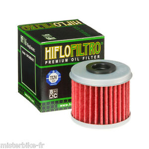 Filtre-a-huile-Hiflofiltro-HF116-Pour-Honda-CRF-250-RR-2007-CRF-250-X-2006