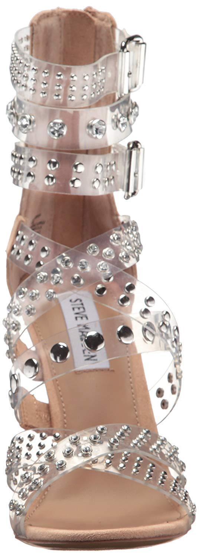 Steve Madden Moto Multi Strap Studded Strappy Dress Sandals, Multi Multi Multi Tailles Clear f282b8