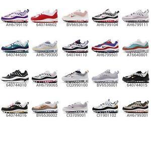 Nike Womens Air Max 98 Low Top Sneakers Running Shoes Pink 9 Medium (B,M)