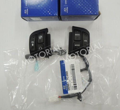 20062010 HYUNDAI ACCENT VERNA OEM Audio Handsfree Switch + Ext Wire 3pcs Set