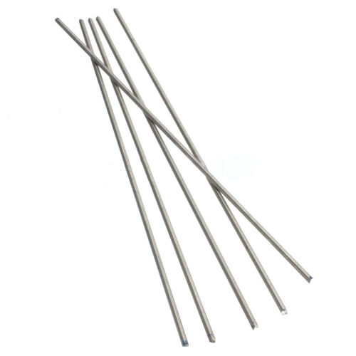 5Pcs Titanium Ti Grade 5 Gr.5 GR5 Metal Rod Diameter 2mm Length 25cm 10 inches