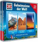 WAS IST WAS 3-CD-Hörspielbox: Geheimnisse der Welt von Kurt Haderer und Manfred Baur (2014)