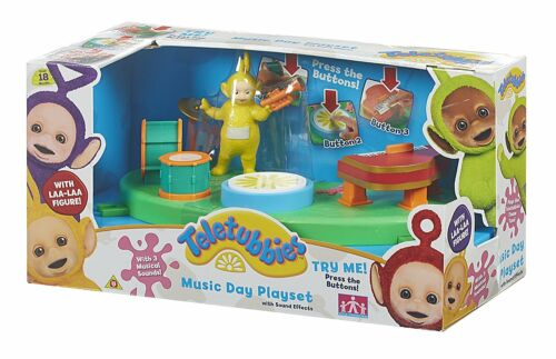 Teletubbies Toy Sets Music Day Character Options Figures Superdome