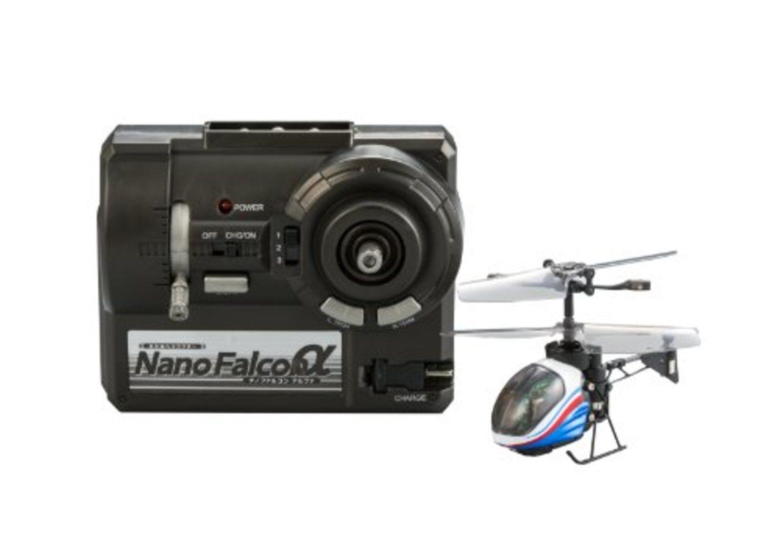 Nano Falcon a  The più Piccolo Rchelicopter Of World Blu Mettuttiico F S W   sconto prezzo basso