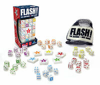 Flash The Lightning Fast Dice Game Blue Orange Games (the Makers Of Spot It)