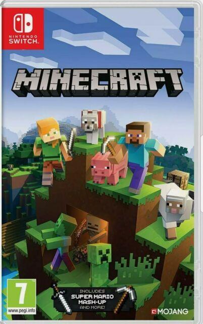 Minecraft Nintendo Switch Jeu Vidéo Standard Français Pegi 7 Neuf Sous Blister