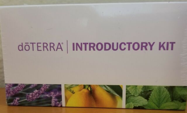 doTERRA Introductory Essential Oil Kit - Brand New Lemon, Lavender & Peppermint