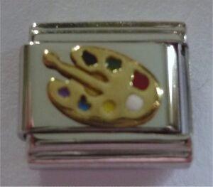 Butterfly Moodstone Italian Charm 9mm Classic Size