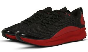 separation shoes d2c87 64a11 Image is loading NIKE-AIR-JORDAN-ZOOM-TENACITY-BLACK-GYM-RED-