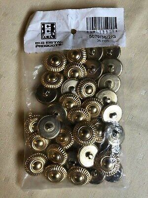 C/&C Metal Products 5079 Modern Daisy Metal Button Antique Nickel Size 36 Ligne 36-Pack