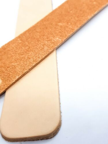 diy stamp make your own twin pack Veg tanned leather bookmark blanks stain