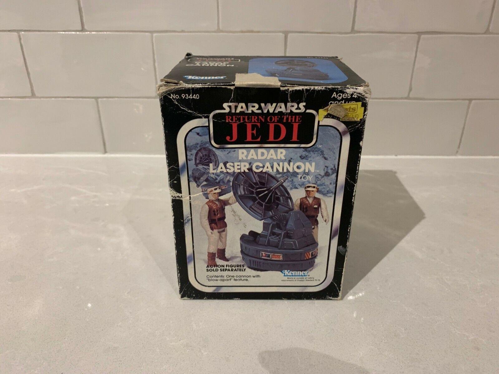 Vintage Star Wars Return Of The Jedi Radar Laser Cannon Kenner