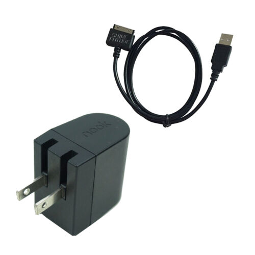 "7//9/"" BNTV400//600 Original Wall Power Charger Charge Cable For Barnes Nook HD HD"