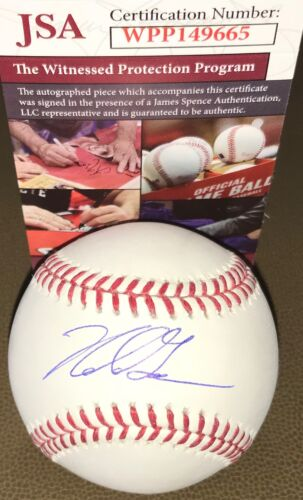 Nolan Gorman Cardinals Autographed Signed MLB Baseball JSA WITNESS COA