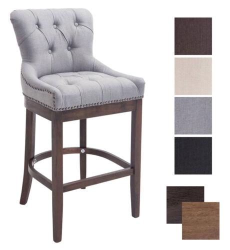 Exceptional Elegant Bar Stool Buckingham Tweed Breakfast Kitchen Vintage Armchair Chair  Pub Dark Grey Dark Antique | EBay