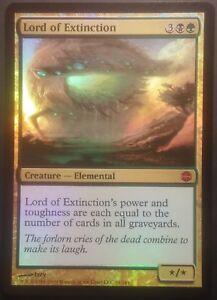 Seigneur-de-l-039-Extinction-PREMIUM-FOIL-VO-English-Lord-of-Magic-mtg