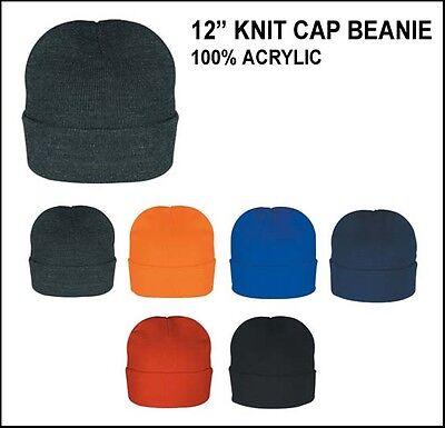 12-60pcs Men Women Assorted Color Warm Winter Knit Ski Cap Beanies Skull Hat Lot