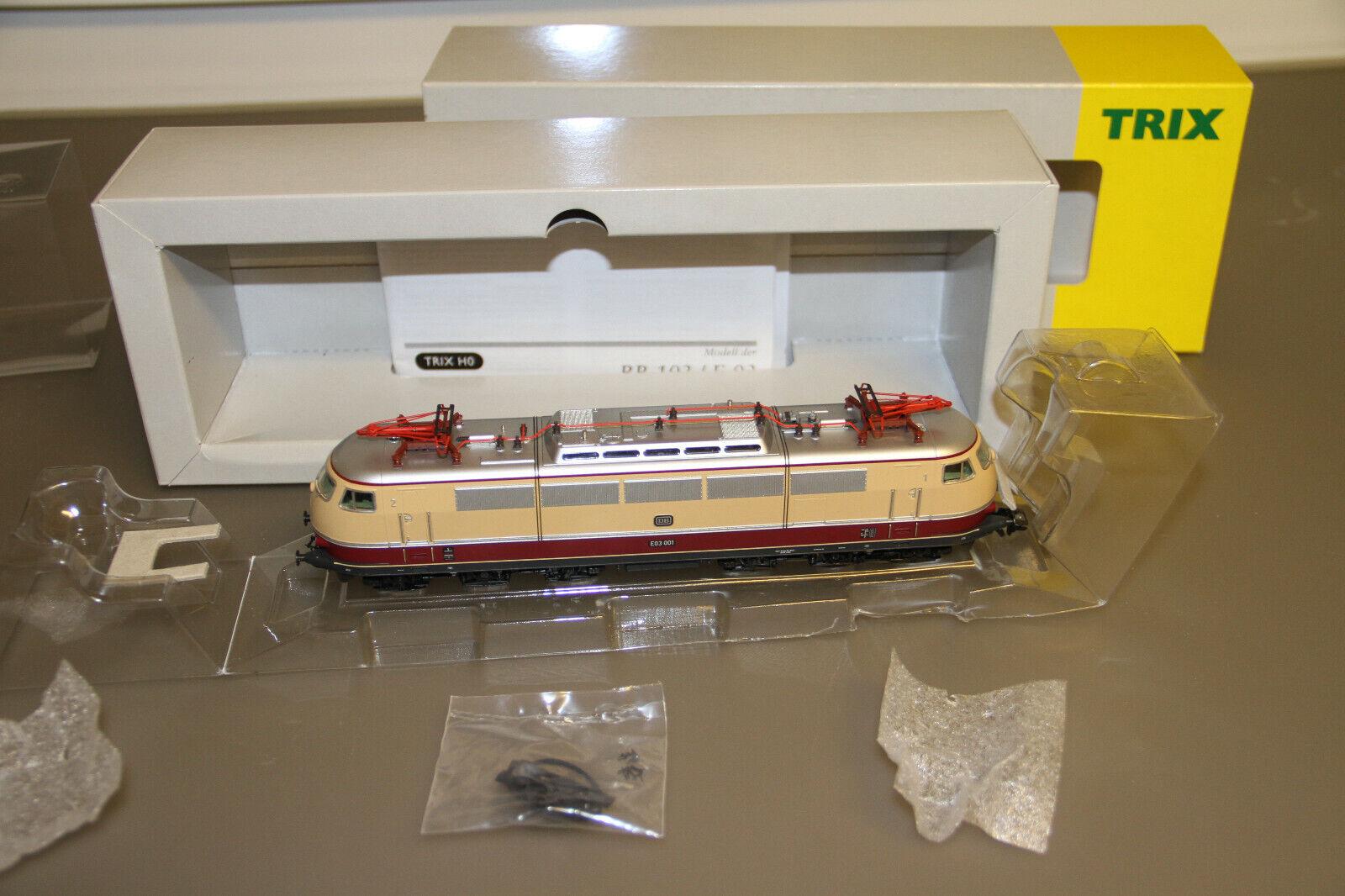 Märklin Trix h0 22118 br e03 001 corriente alterna mfx transformación embalaje original sin usar