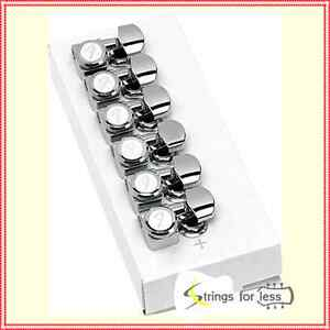 Fender-Locking-Guitar-Tuners-American-Deluxe-Strat-Chrome-Set-of-6