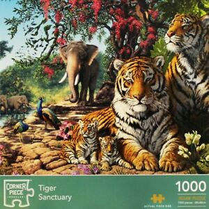 Tiger Sanctuary 1000 Piece Jigsaw Puzzle, Toys & Games, Brand New