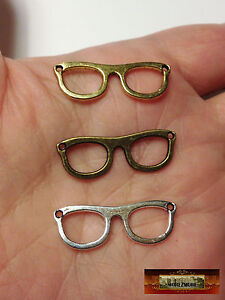 M00766-Silver MOREZMORE 3 Metal Eyeglasses Frames Spectacles Glasses Mini