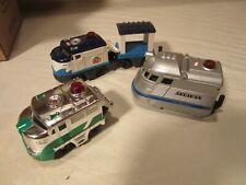 Fisher-Price Geotrax Working Engines Trailing Cars No Remote AS IS
