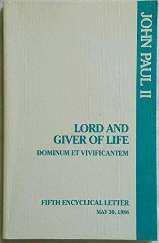 Lord and Giver of Life - Paperback - GOOD