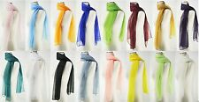 New Chiffon Scarf Oblong Women's Fashion Style Lady Shawl Girls Stole 22 Colors