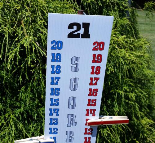 Free Shipping !!! RED WHITE BLUE SILVER Scoreboard Score Keepers 3 Each