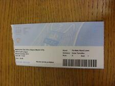 02/10/2013 Ticket: Manchester City U19 v Bayern Munich U19 [UEFA Youth League] (