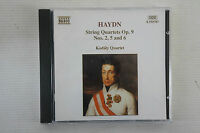 Haydn - String Quartets Op.9, Kodaly Quartet, Naxos Disc, CD (Box 55)