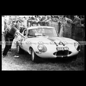 pha-014896-Photo-JAGUAR-E-TYPE-HANSGEN-PABST-24-HEURES-DU-MANS-1963-Car-Auto