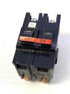 FPE Federal Pacific Stab-Lok 40 Amp 2 Pole Circuit Breaker Type NA
