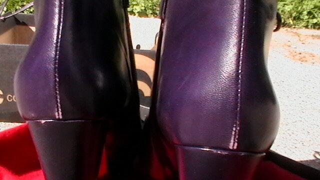 RARE BOTKIER Purple Katie Bootie Größe 39.5/8.5 M M 39.5/8.5 NWOB/With Defects 247f87