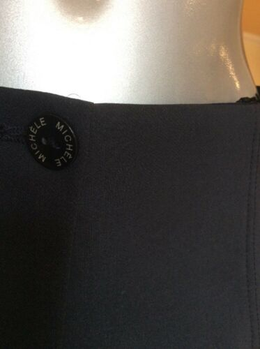 Ora 59 Rrp Michele Bnwt 133 Elasticated Navy Blu £ Dot di 10 £ Waist Taglia Trousers qOZZgwA