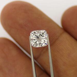 6.5 MM 0.75 Carat Off White Trillion Diamond Cut Loose Moissanite For Ring