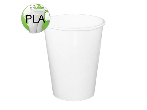 6oz Biodegradable Cold//Hot PLA paper cup