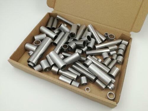 300 G de aluminio inoxidable distanzhülsen abstandshülsen al bricolaje decorar Aprox