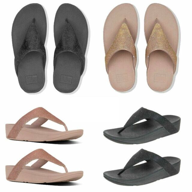 Womens FitFlop Crystall Toe Post Sandal