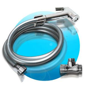 PREMIUM-Bidet-Hygienedusche-Intimdusche-Handbrause-Wasserhahn-Hundedusche-2m