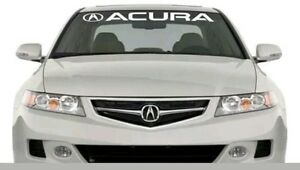 Image Is Loading Acura Windshield Banners Cars Stickers Decals Jdm Graphics