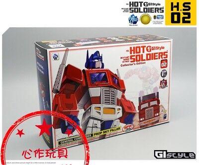 Hot Soldiers Mech Planet HS02 Warrior G1 Style Optimus BONUS NO BOX IN STOCK