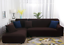 2PC-L-Shape-Stretch-Elastic-Fabric-Sofa-Cover-Slipcovers-Corner-Couch-Covers-set thumbnail 9