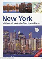 REISEFÜHRER NEW YORK 2015/16, VERLAGSFRISCH, STADTFÜHRER, USA, 216 SEITEN