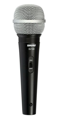 """Shure SV100-W Multi-Purpose Microphone with XLR-1//4/"""" Cable"""