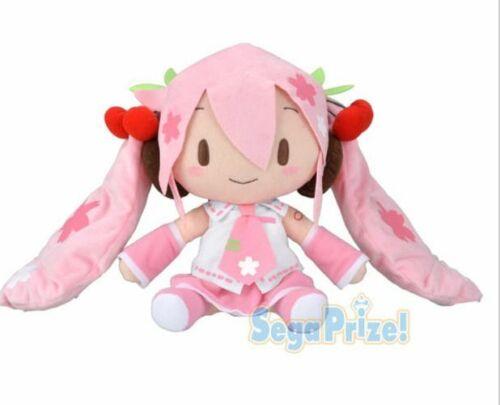 "Sakura Miku  Jumbo Stuffed Plush 12/""  Sega Prize Hatsune Miku JAPAN"